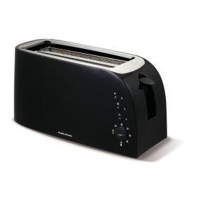 Morphy Richards 980508, Black, 4 Slice Toaster
