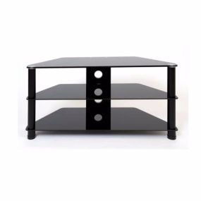 DFE DM023BL, 100cm, Black, LCD/Plasma Stand