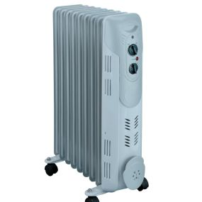 Winterwarm WRC20, 2kW, Oil Filled, Radiator, White