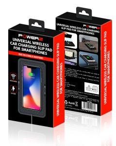 Powerz Wireless Charging Slip Pad For Car/Home QI 5W (PZWSMC)