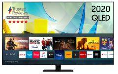 """Samsung QE65Q80TATXXU, 65"""", Smart 4K Ultra HD, HDR QLED TV"""