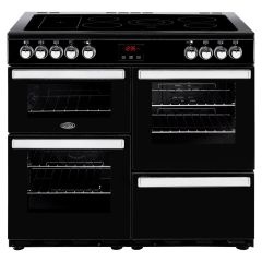 Belling 100EBLK Cook Centre 100cm All Electric Black Range Cooker