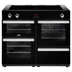 Belling 110EIBLK, Cook Centre, 110CM,  Induction, Range Cooker, Black
