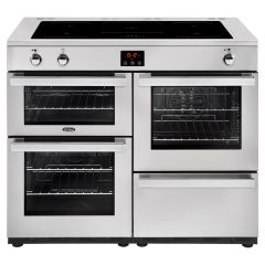 Belling 100EIPROFSTA, Cook Centre, 100cm, Induction Range Cooker, Stainless Steel