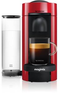 Magimix Vertuo 11389, Compact Coffee Machine, Red