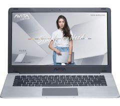 "Avita NS14A6UKV441IG, Pura, 14"", Ryzen 5, 4GB/256GB, Laptop, Silver/Grey"