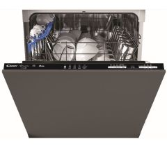 Candy CRIN1L380PB80, WiFi Enabled, 13 Place Settings, A+, Fully-Integrated Dishwasher, Grey