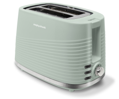 Morphy Richards 220028, Dune Toaster, Sage Green