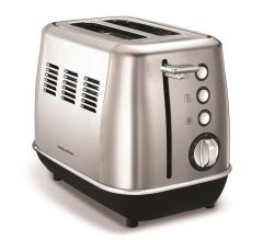 Morphy Richards 224406, Evoke Toaster, Stainless Steel