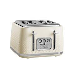 Morphy Richards 243011, 4 Slice, Verve Toaster, Cream