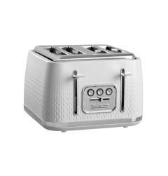 Morphy Richards 243012, 4 Slice, Verve Toaster, White