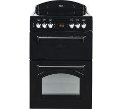 Leisure CLA60CEK, 60cm, Electric Cooker, Black