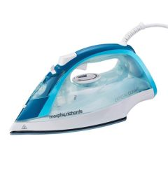Morphy Richards 300300, 2400W, 30G Steam Output, Steam Iron, Cystal Clear Blue