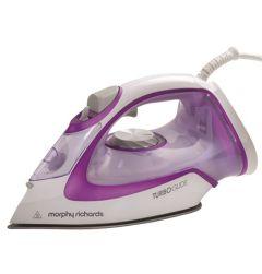 Morphy Richards 302000, 2400W, 40G Steam Output, Steam Iron, Purple/White