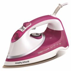 Morphy Richards 303123, 2800W, Steam Iron, White/Pink