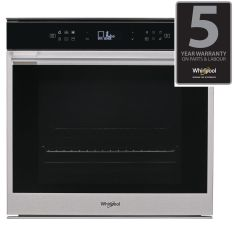 Whirlpool, W7OM44BPS1 P, W Collection, Single Oven, Pyrolytic,