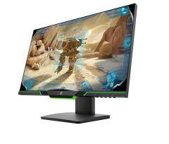 """HP 3WL50AA, 24.5"""", LCD Gaming Monitor, Black"""