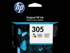 HP 3YM60AE, 305 Colour Ink Cartridge, Tri-colour