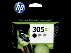 HP 3YM62AE, 305XL High Yield Original Ink Cartridge, Black