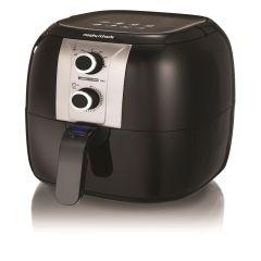 Morphy Richards 480003, Manual Health Fryer, Gloss Black