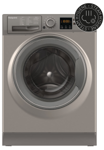 Hotpoint NSWM943CGG, 9KG, 1400RPM, Washing Machine, Graphite
