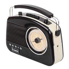 Brighton BRIGHTONBLK, Retro Radio, Black