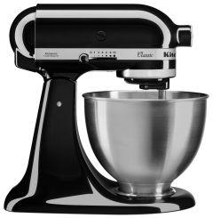 KitchenAid 5K45SSBOB, 4.3L, 275w, Tilt-Head Stand Mixer, Onyx Black