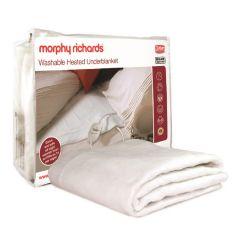 Morphy Richards 600012, Fleece, Large, Double, Under Blanket