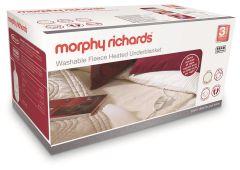 Morphy Richards 600013, Fleece Large Under Blanket, Double Dual