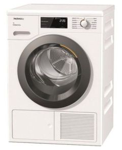Miele TCF640WP, 8KG, A+++, EcoSpeed, Heat-pump Tumble Dryer, White