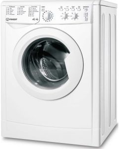 Indesit IWDC65125WUKN, 6/5KG, 1200rpm, EcoTime Washer Dryer, White