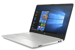 HP 15-dw0023na 15.6 Inch Laptop (Silver) Intel i3-702OU, 8GB RAM, 128GB SSD, Windows 10 Home
