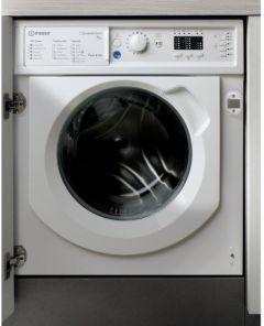 Indesit BIWMIL91484UK, 9KG, 1400rpm, Integrated Washing Machine, White
