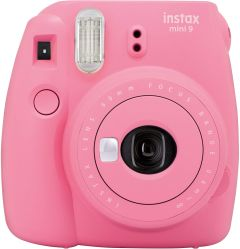 Fuji INSTAXMINI9FP, INSTAX Mini Flamingo Pink, Plus 10 Shot