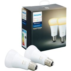 Philips 929001200163, Hue White Ambiance E27 Twin Pack
