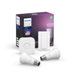 Philips 929001257461, Hue White and Colour Ambiance B22 Starter Pack
