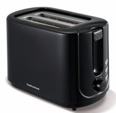 Morphy Richards 980506, Black, 2 Slice, Toaster