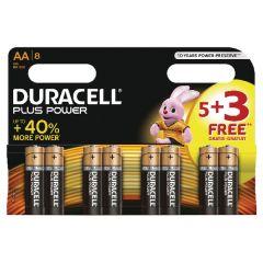 Duracell 5PK + 3 AA Pack Batteries