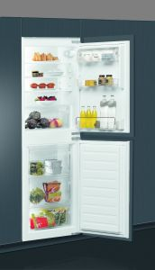 Whirlpool ART4550, 177 x 54cm, Fully Integrated 50/50 Fridge Freezer, A+, Less Frost Technology