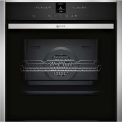 Neff B17CR32N1B, 12 Function, Built In Single Oven, Stainless Steel