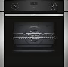 Neff B1ACE4HN0B Single Oven - Black W/Steel