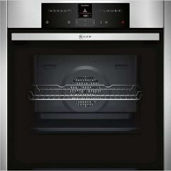 Neff B25CR22N1B, Pyrolytic Single Oven, Electric, Stainless Steel