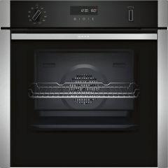 Neff B6ACH7HN0B Slide & Hide Single Oven - Black W/Steel