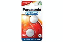 Panasonic CR20252BP, 3V Lithium Coin Battery - Pack of 2
