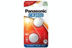 Panasonic CR20322BP, 3V Lithium Coin Battery - Pack of 2