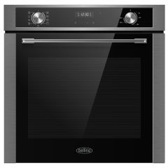 Belling BI69MFSTA, 72L, Multifunction Single Oven, Black