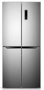 Belling BMD400IX, 180X79CM 4 Door, American Fridge Freezer, Stainless Steel