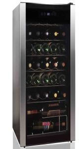 Belling BWC34BK, 34 Bottle, Wine Cooler, Stainless Steel