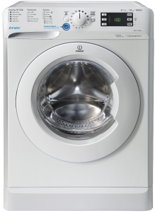 Indesit BWE101684XW, 10Kg, 1600 Spin, Freestanding, Washing Machine, White