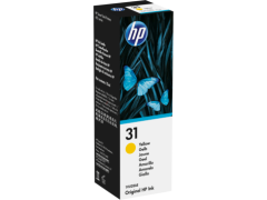 HP No. 31, 70ML, Yellow Ink for Smart Tank Plus Printers